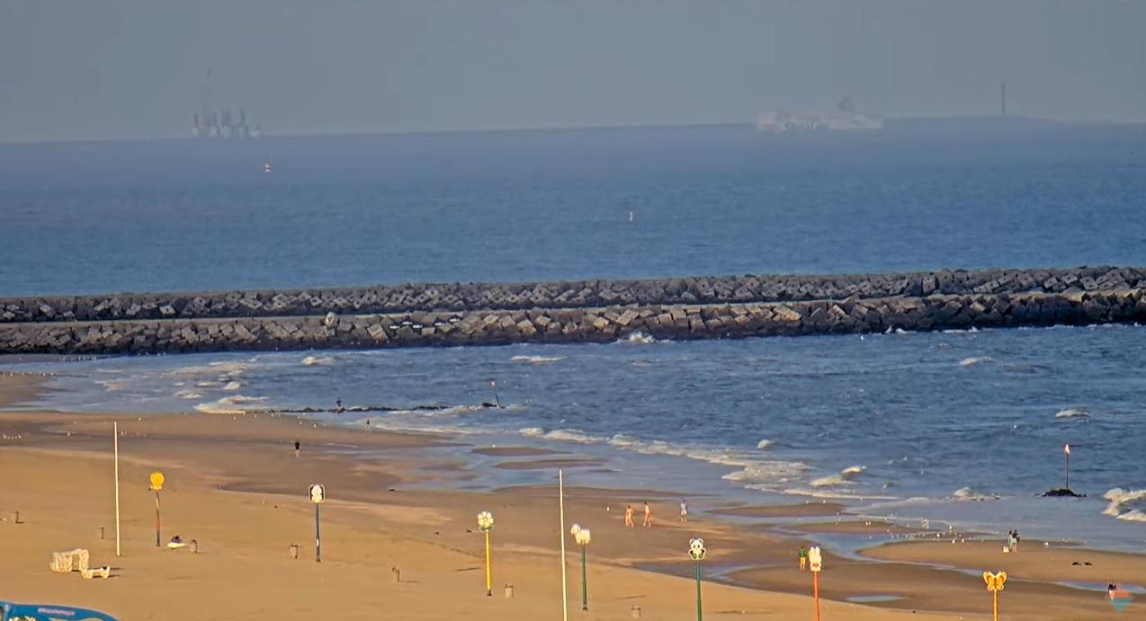 Het strandweer voor donderdag 22 juli