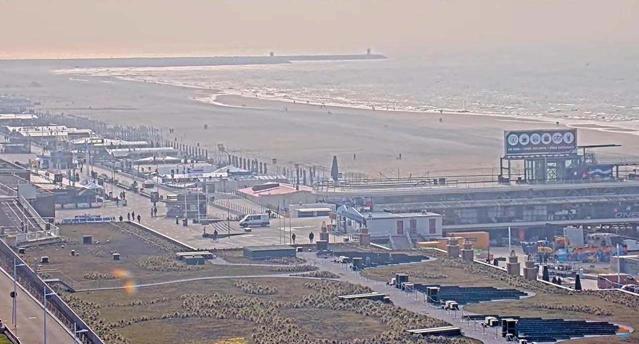 Tweede live webcam op Scheveningen online