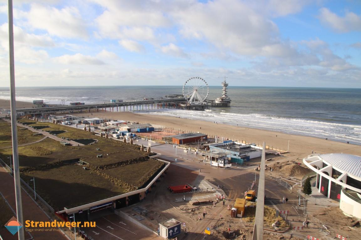Het strandweer voor maandag 1 maart