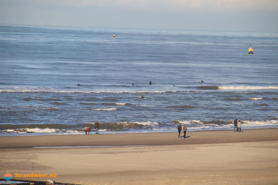 Het strandweer voor nieuwjaarsdag 2021