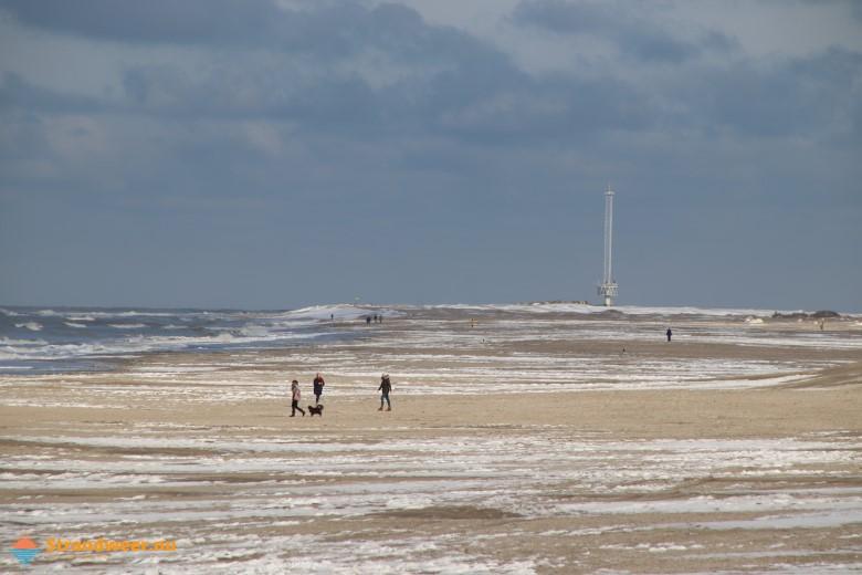 Het strandweer voor woensdag 10 februari