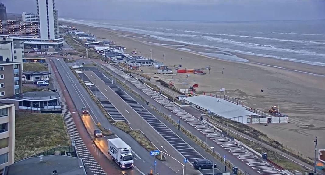 Het strandweer voor dinsdag 9 maart