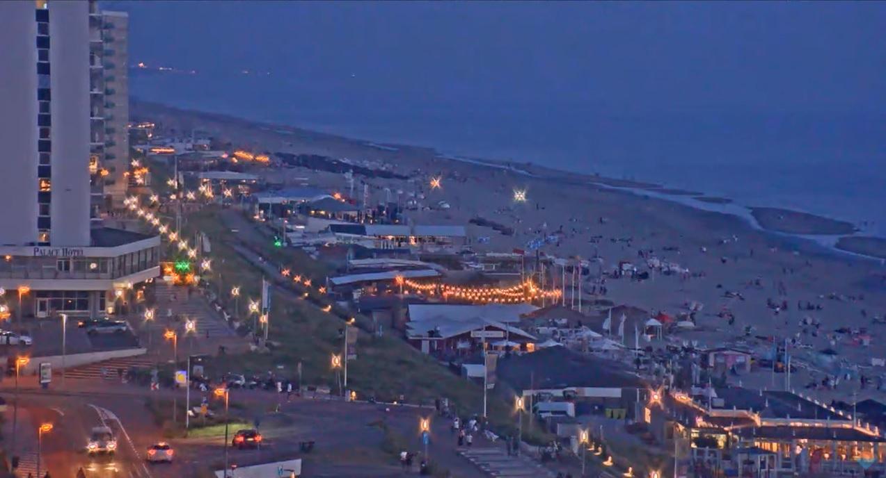 Onrustige woensdagavond op Zandvoortse strand