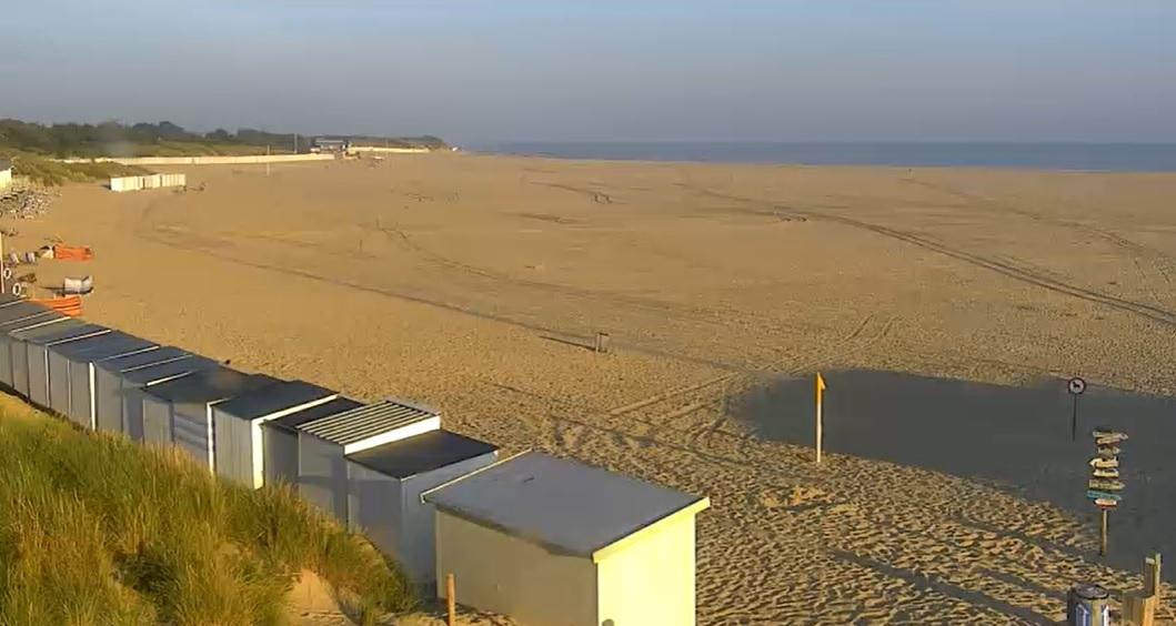 Het strandweer voor woensdag 8 september