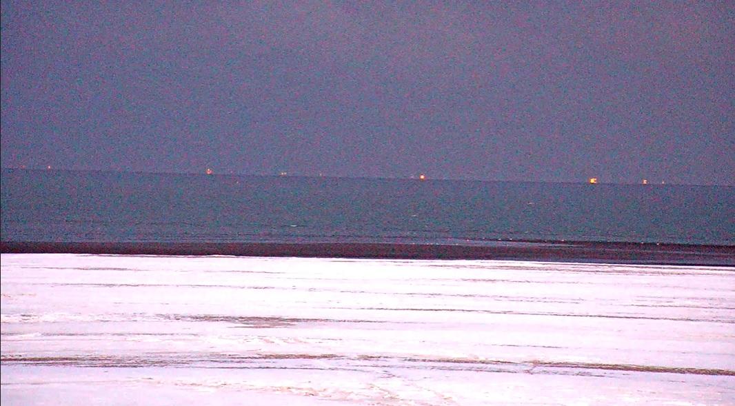 Het strandweer voor dinsdag 9 februari