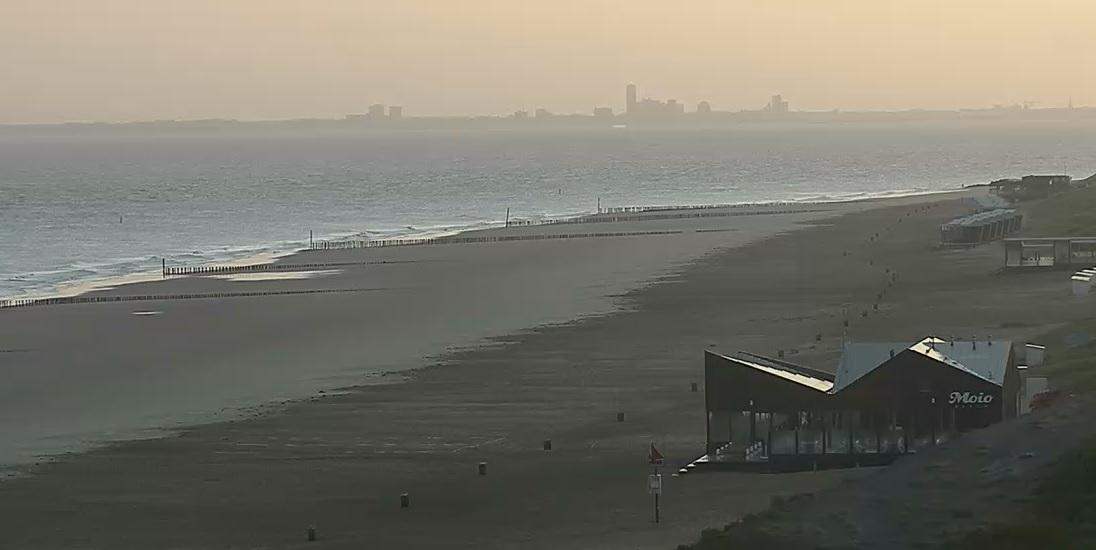 Het strandweer voor het laatste weekend van september
