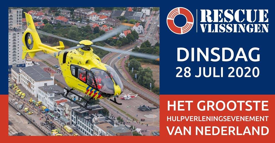 Datum Rescue Vlissingen 2020 bekend
