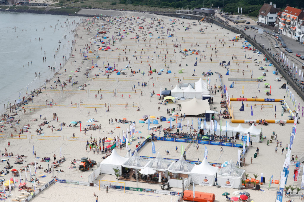 Opening Summer Beach Volleyball Circuit in Vlissingen