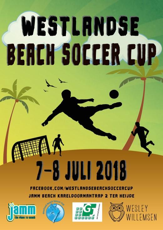 Westlandse Beach Soccer Cup op 7 en 8 juli