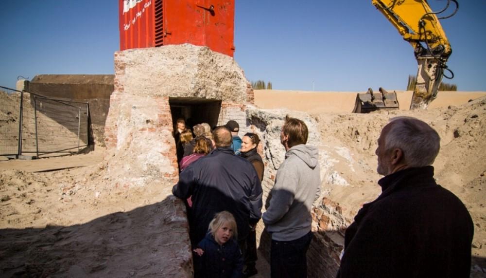Bezoek vandaag de Duitse bunker en kazemat