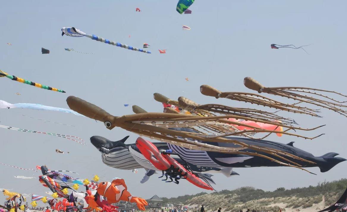Vliegerfestival 8-10 juni in Renesse