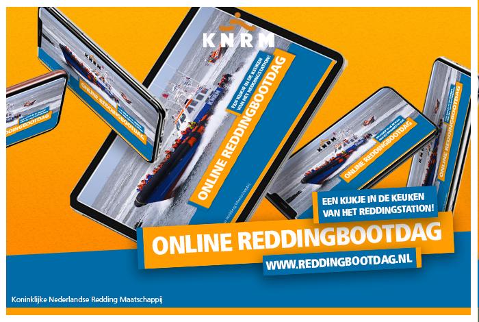 Bezoek KNRM-Reddingbootdag ONLINE!