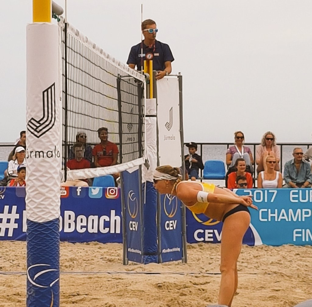 Drie weekenden beachvolley in Scheveningen