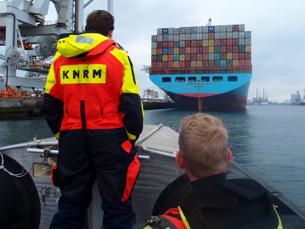 Brand op containerschip Maersk Kokura