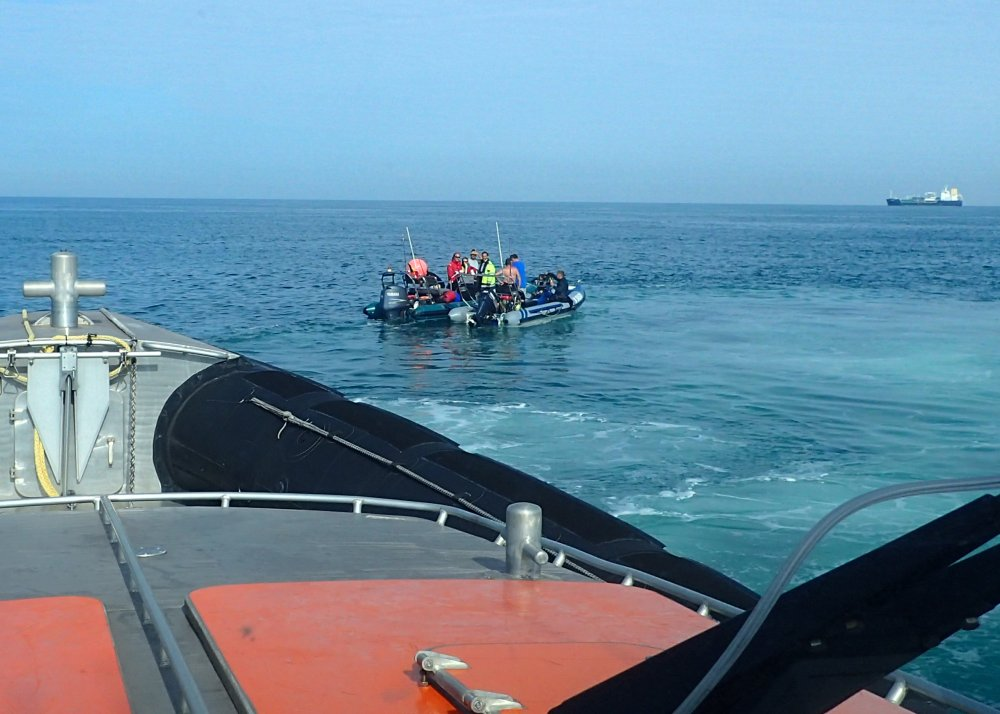 Belgische 'duik' bootjes met pech voor Goeree Overflakkee