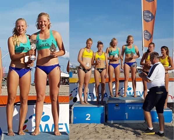Piersma en Priem winnen zeslandentoernooi Hoek van Holland