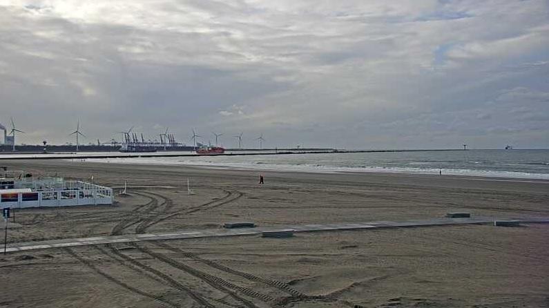 Webcam Hoek van Holland eindelijk online