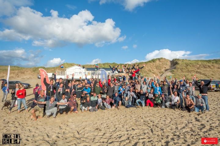 Kitesurfwedstrijd Hoek tot Helder in 2018
