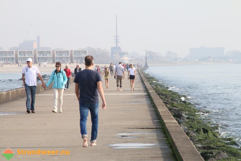 Strandweer voor donderdag 19 oktober