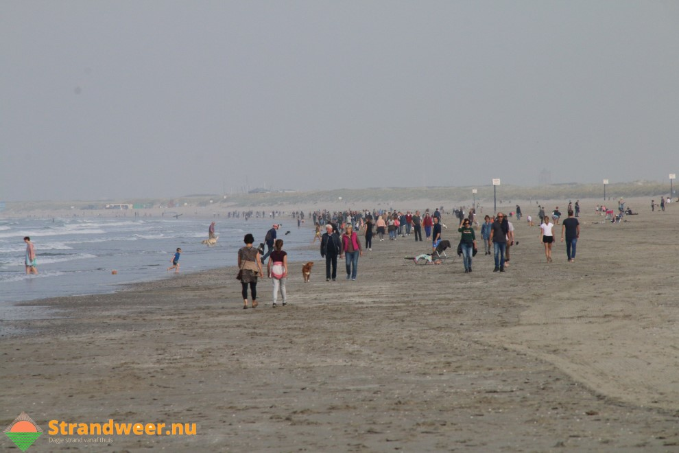 Wisselvallig en nat strandweer voor week 13