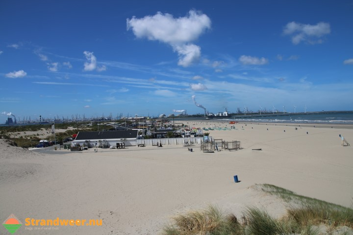 Het strandweer voor zondag 10 september