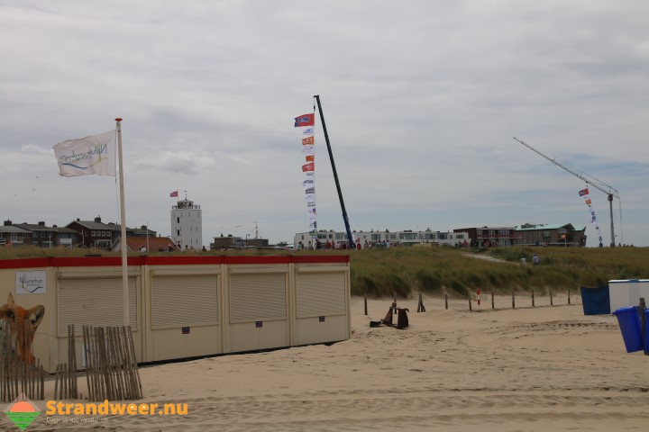Het strandweer voor maandag 23 oktober