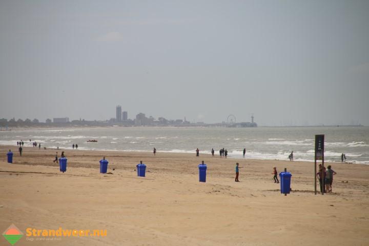 Strandweer voor maandag 11 september