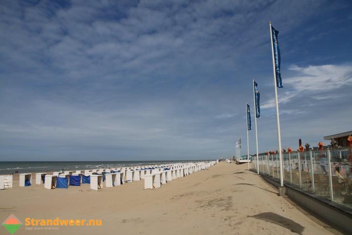 Het strandweer voor 3e weekend april