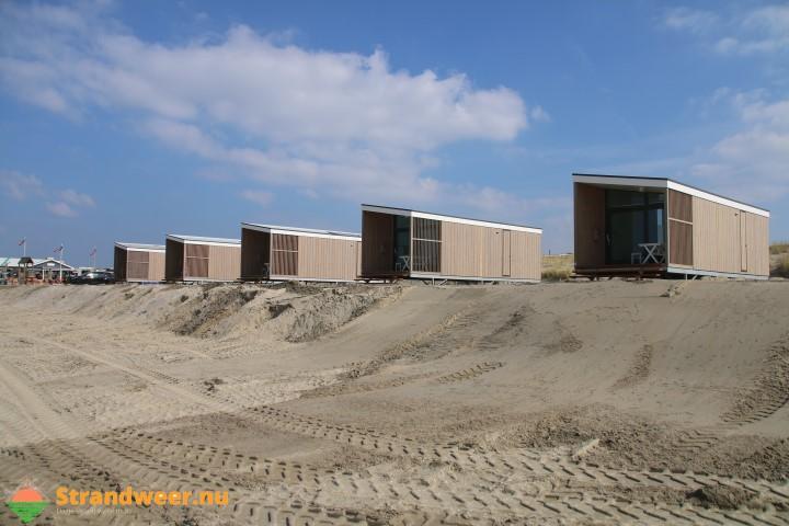 Vergunningen voor strandhuisjes Zuiderstrand in orde