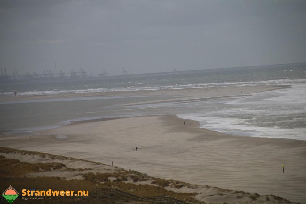 Live beelden van de Zandmotor op Strandweer.nu