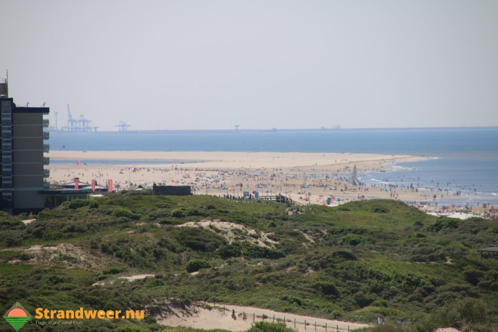 Warm strandweer voor woensdag 25 juli
