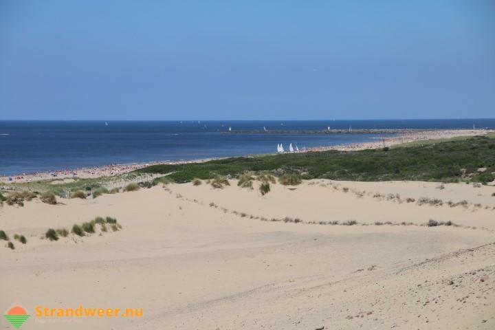 Strandweer voor woensdag 25 oktober