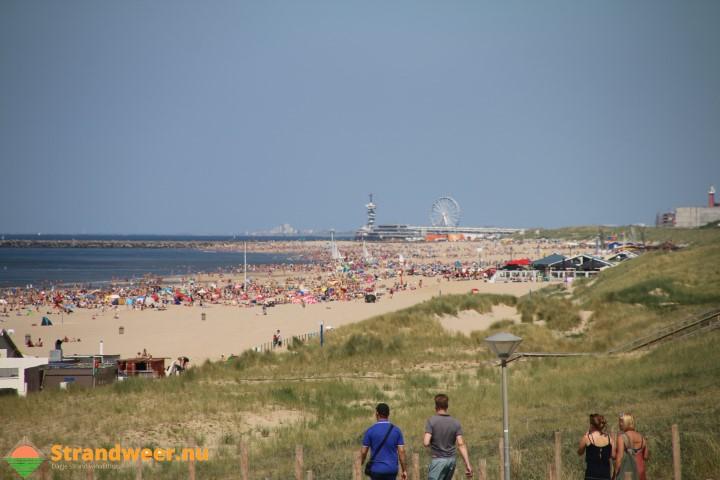 Aangenaam strandweer voor zondag 15 oktober