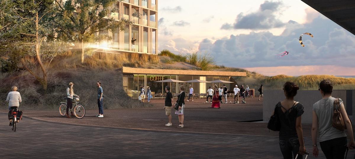 Nieuwbouwplan hotel Bergen aan Zee valt in goede aarde