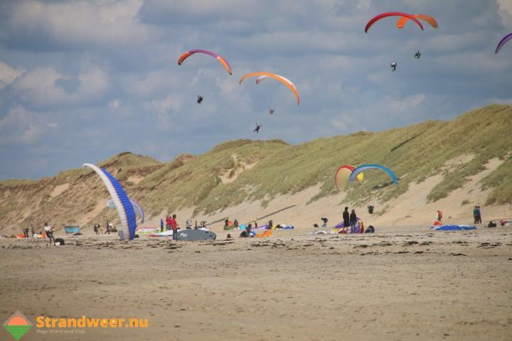 Soaren langs de Noord Hollandse kust
