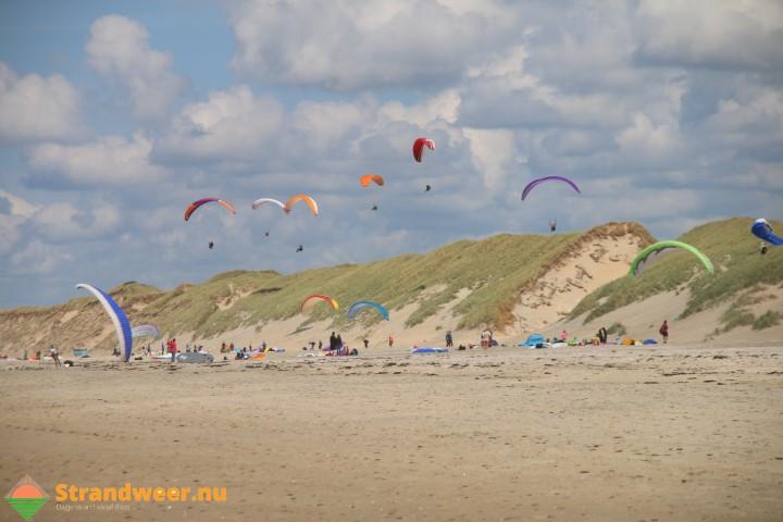 Wisselend strandweer voor tweede week april