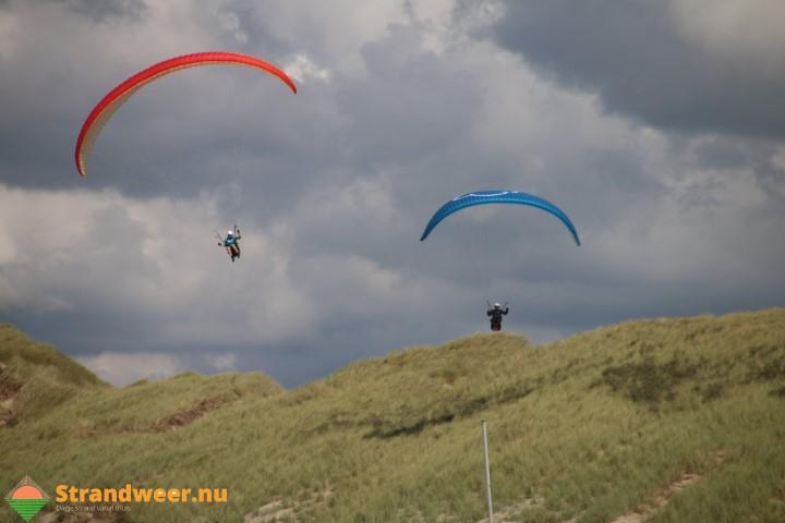 Nauwelijks klachten tegen paragliders in Westland