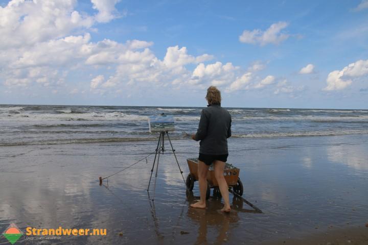 Strandweer voor dinsdag 12 september