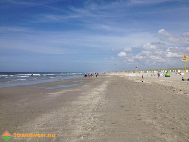Strandweer voor donderdag 28 september