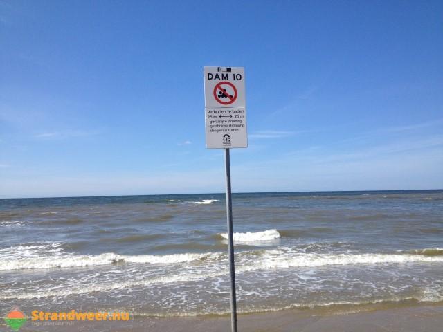 Zondag heerlijk strandweer met later afkoeling