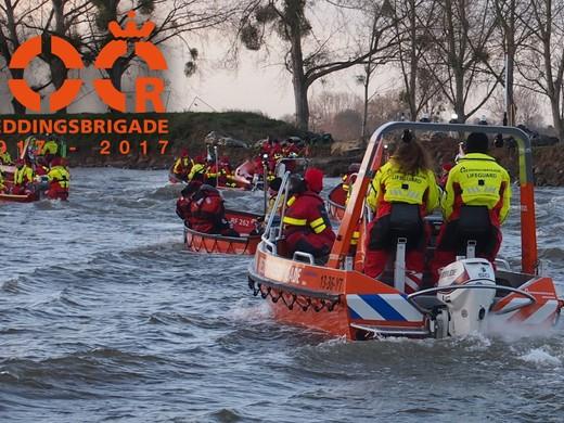100 jaar Reddingsbrigade Nederland vaartocht van start