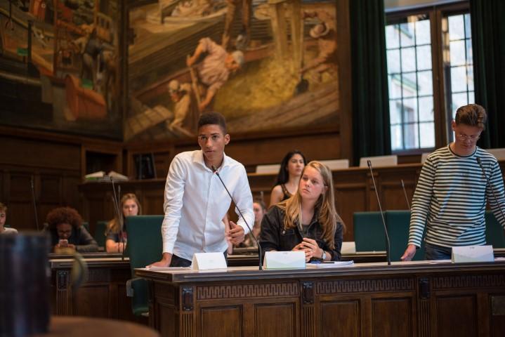 Finaledag Benelux Debatcompetitie in Kurhaus