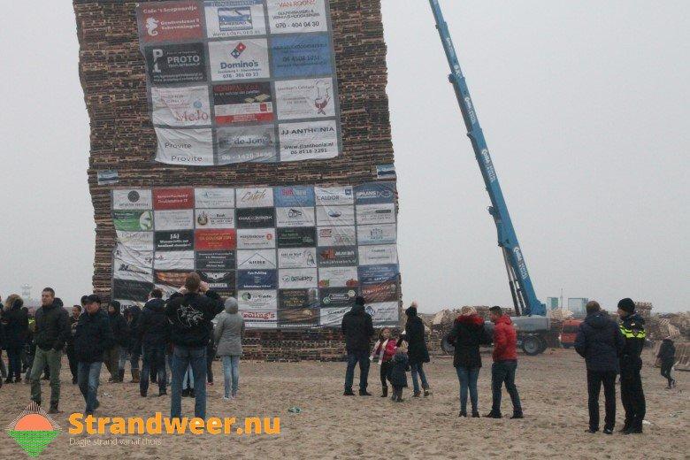 Definitief geen vreugdevuur op Scheveningse strand