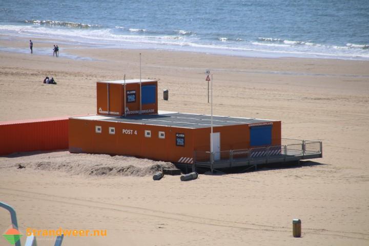 Strandgasten overleden na zwemmen in zee