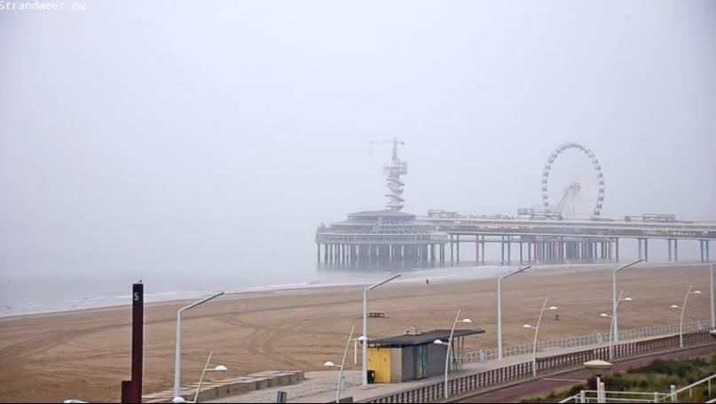 Strandweer voor woensdag 8 november