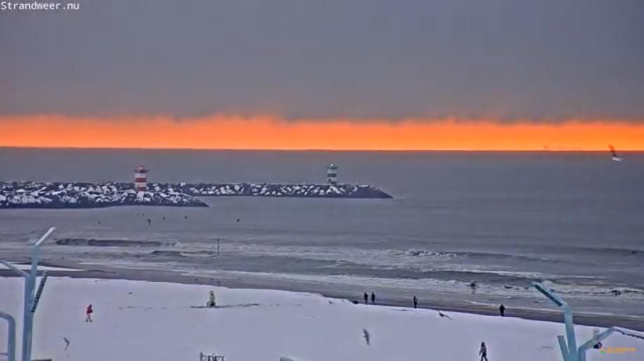 Opnieuw wit strandweer voor maandag 11 december