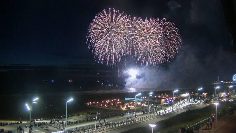 Vuurwerkshow Ter Heijde aan Zee