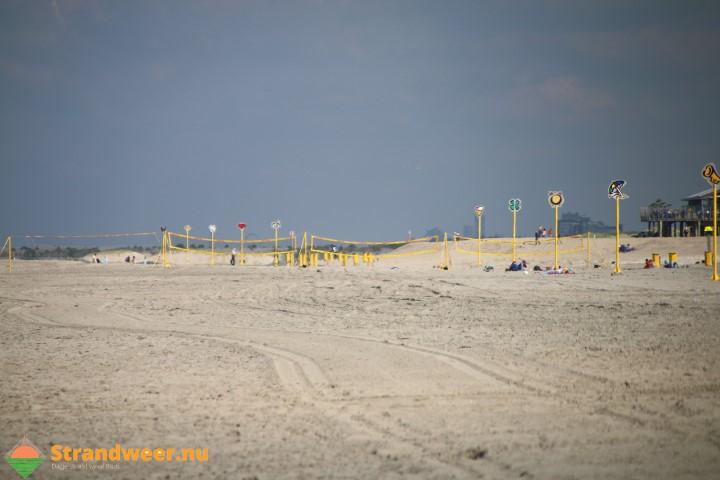 Strandweer voor dinsdag 24 oktober
