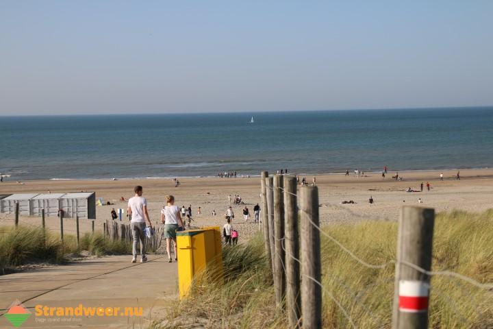 Uitzonderlijk strandweer voor maandag 16 oktober