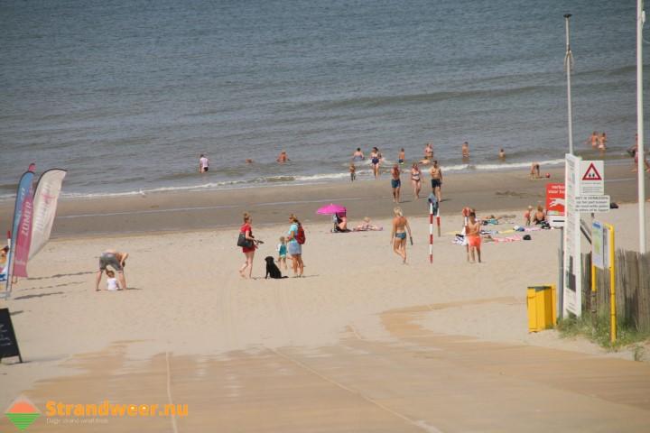 Zomers strandweer voor zaterdag 26 augustus